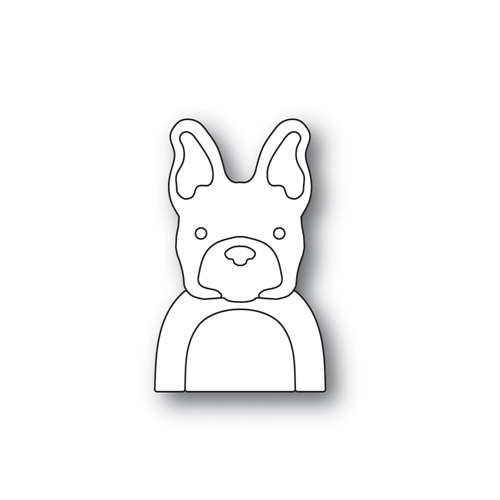 Simon Says Stamp PICTURE BOOK FRENCH BULLDOG Wafer Dies S464 Preview Image