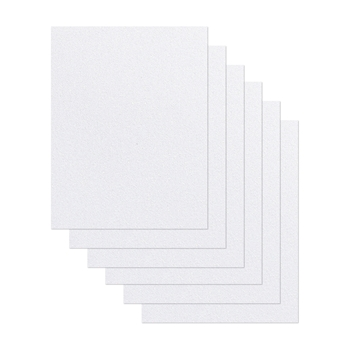 Simon Says Stamp Cardstock WHITE GLITTER WG64017