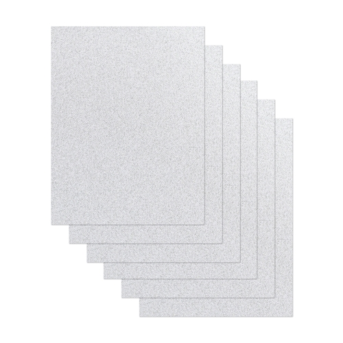 Simon Says Stamp Cardstock SILVER GLITTER SG64018 Preview Image