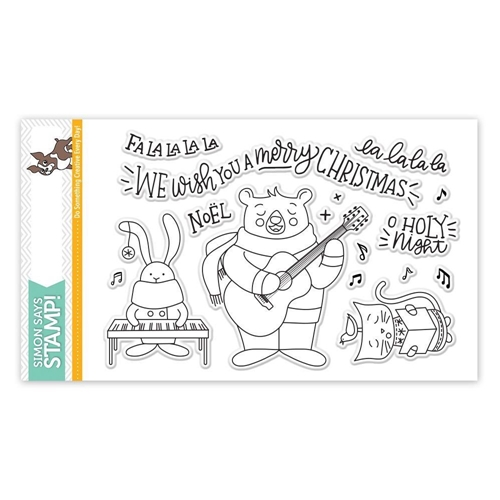 Simon Says Clear Stamps CAROL SINGERS SSS101757 Preview Image