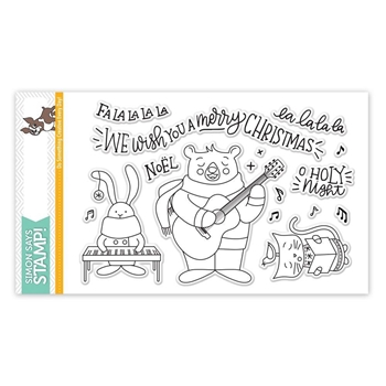 Simon Says Clear Stamps CAROL SINGERS SSS101757