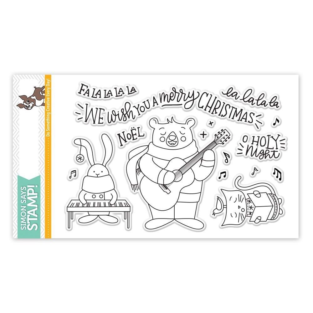 Simon Says Clear Stamps CAROL SINGERS SSS101757 zoom image