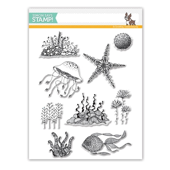 Simon Says Clear Stamps UNDER THE SEA SSS101760 *