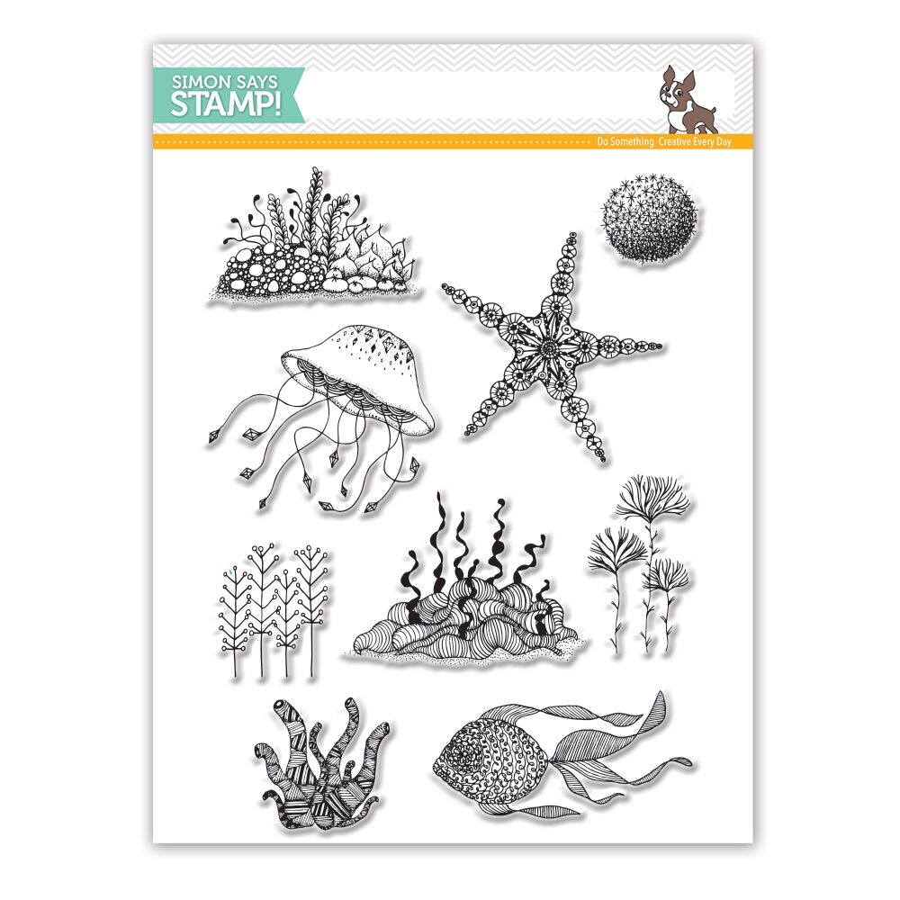 Simon Says Clear Stamps UNDER THE SEA SSS101760 * zoom image