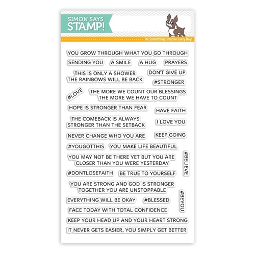 Simon Says Clear Stamps YOU GOT THIS SSS101782 Preview Image