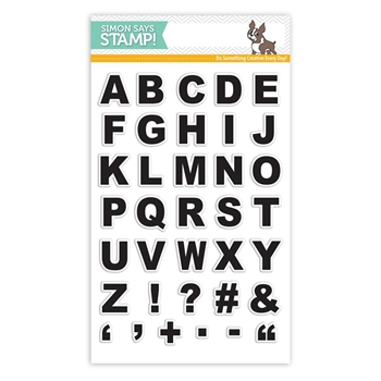 Simon Says Clear Stamp GRID PLAY ALPHA SSS101796