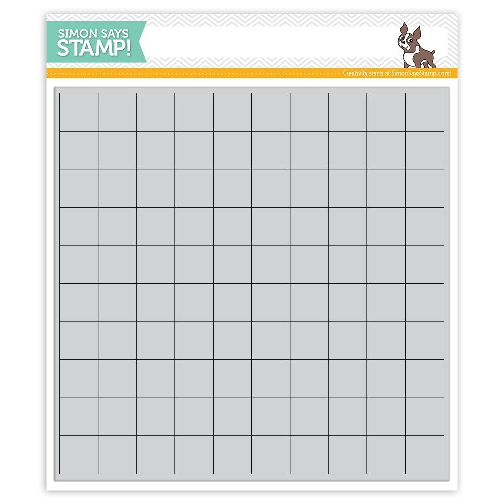 Simon Says Cling Rubber GRID PLAY GRID SSS101797 zoom image