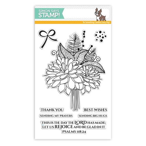 Simon Says Clear Stamp LET US REJOICE SSS101790 Preview Image
