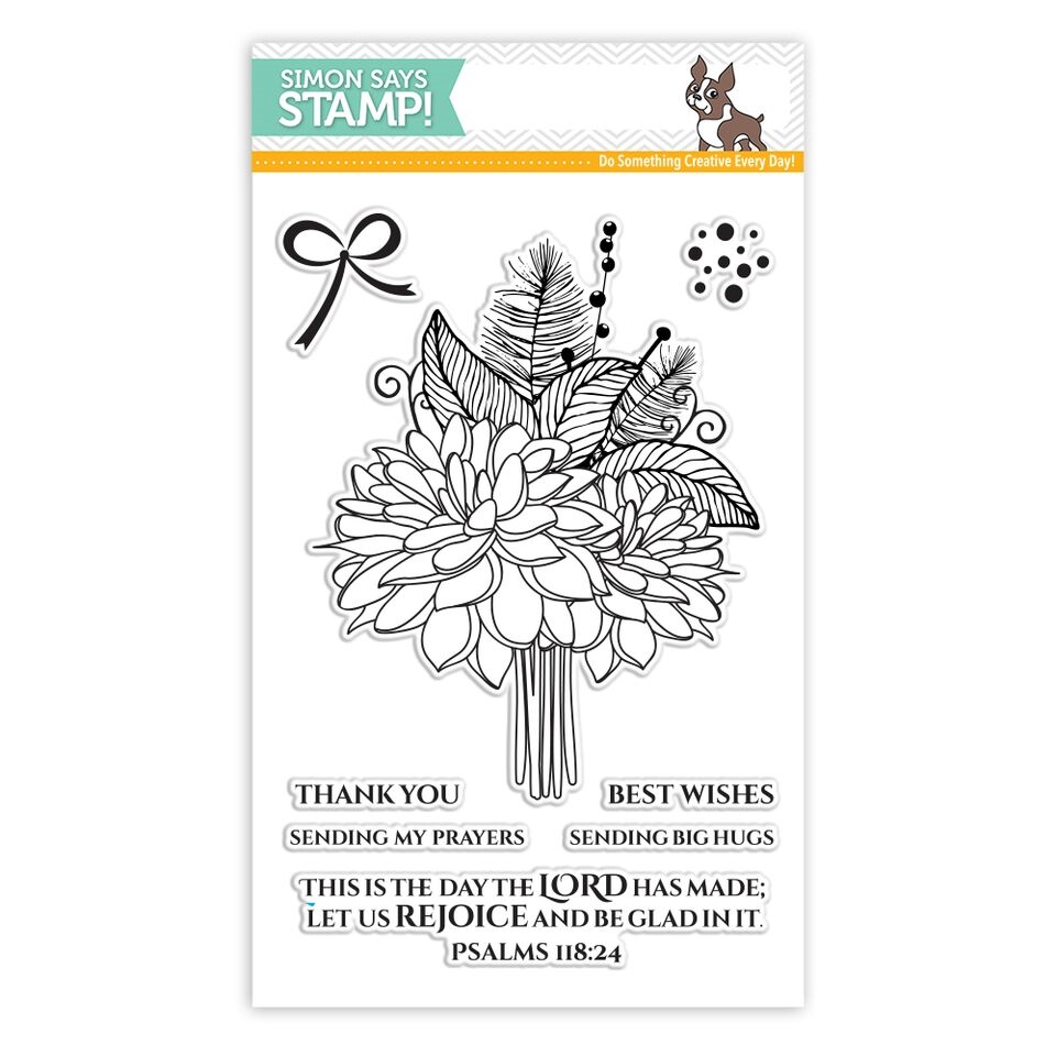 Simon Says Clear Stamp LET US REJOICE SSS101790 zoom image
