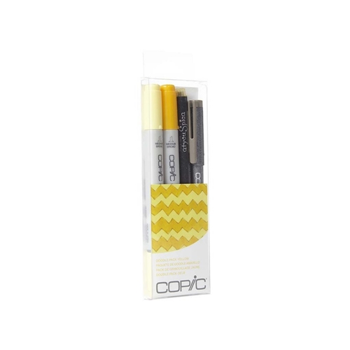 Copic DOODLE PACK YELLOW Set 053843 Preview Image
