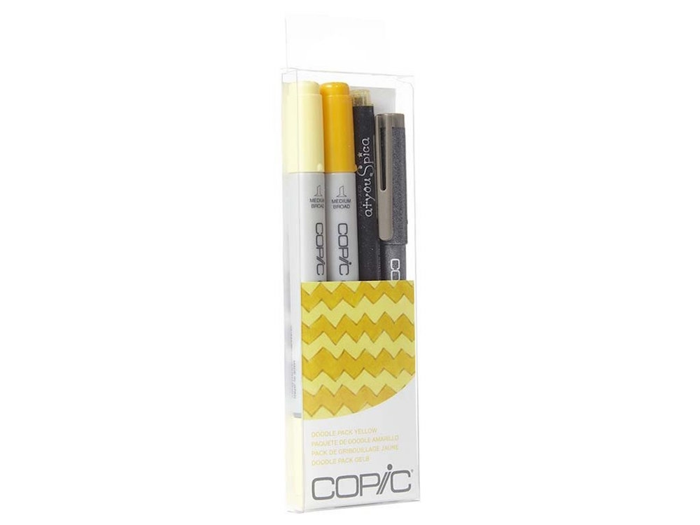 Copic DOODLE PACK YELLOW Set 053843 zoom image