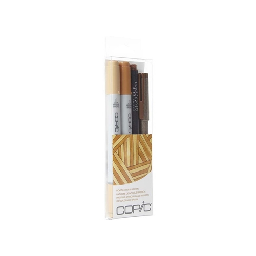 Copic DOODLE PACK BROWN Set 053898 Preview Image