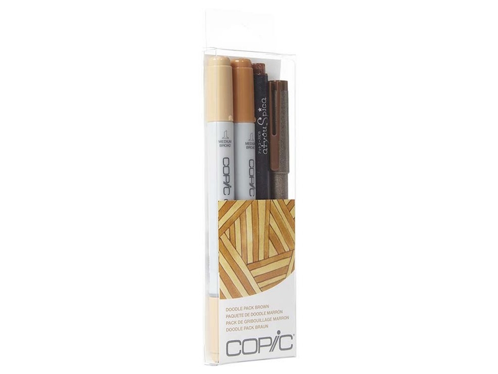 Copic DOODLE PACK BROWN Set 053898 zoom image