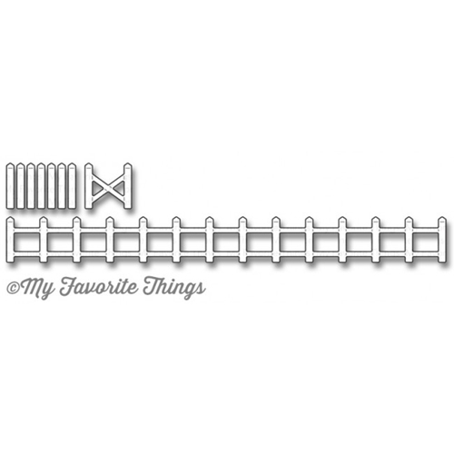 My Favorite Things ANIMAL FARM FENCE Die-Namics MFT1192 Preview Image