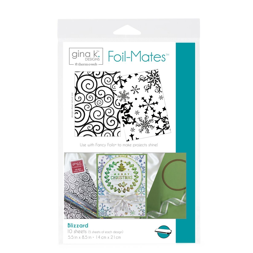 Therm O Web Gina K Designs BLIZZARD Foil-Mates Sheets 18056 zoom image