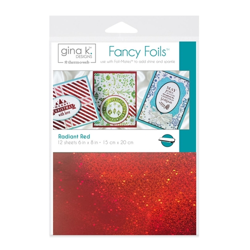 Therm O Web Gina K Designs RADIANT RED Fancy Foils Deco Foil 18062 Preview Image