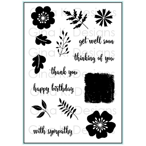Gina K Designs SENTIMENTAL BOUQUET Clear Stamps 9421 Preview Image