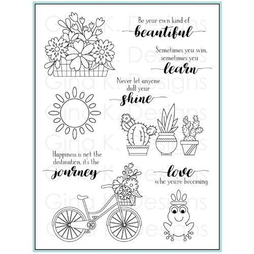 Gina K Designs YOUR OWN KIND OF BEAUTIFUL Clear Stamps 9476 Preview Image