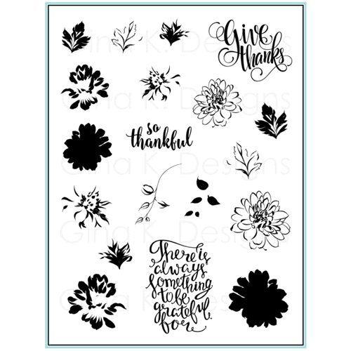 Gina K Designs PAINTED AUTUMN Clear Stamps 9490 Preview Image