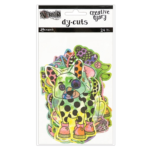 Ranger Dylusions CREATIVE DYARY COLORED ANIMALS DY-CUTS Dyan Reaveley DYE58649 Preview Image