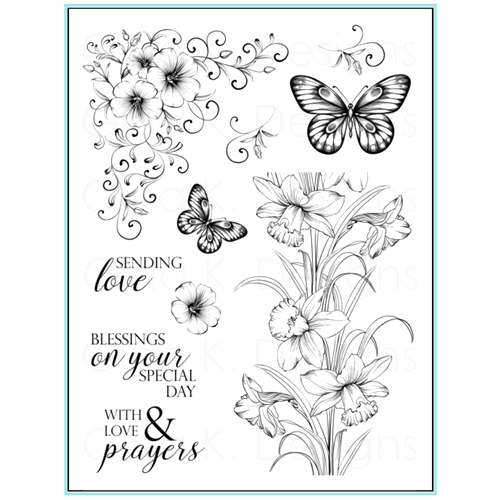 Gina K Designs SENDING LOVE Clear Stamps 9643 Preview Image