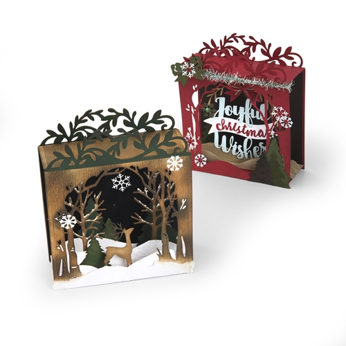 Sizzix HOLIDAY SHADOW BOX Thinlits Die Set 662284 Preview Image