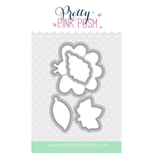Pretty Pink Posh HAPPY TURKEY DIE Set Preview Image