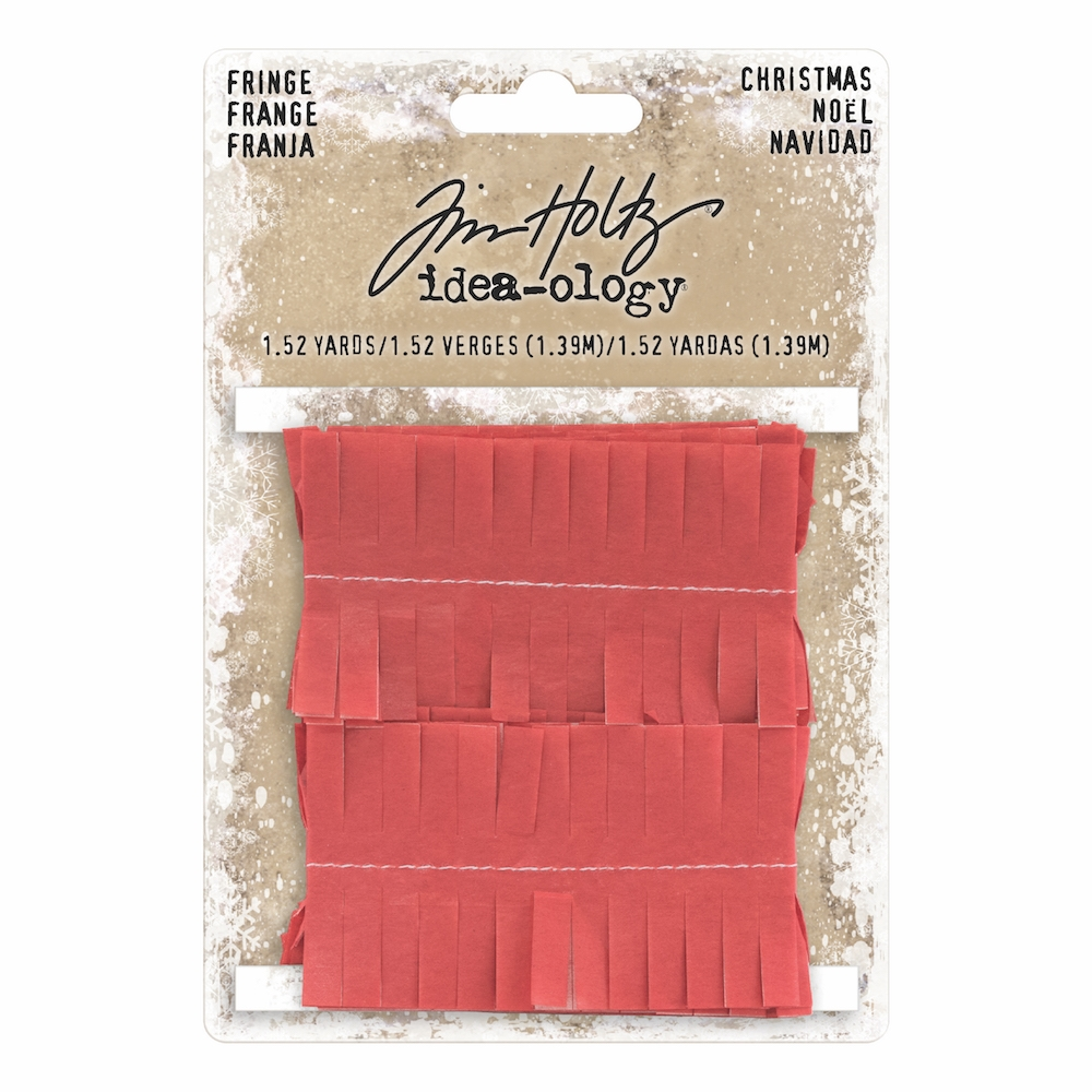 Tim Holtz Idea-ology CHRISTMAS FRINGE TH93647 zoom image