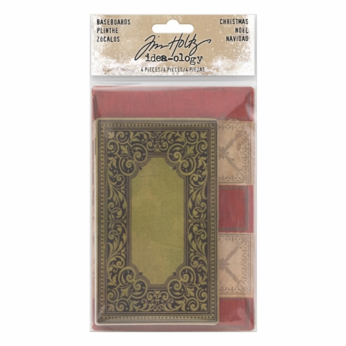 Tim Holtz Idea-ology CHRISTMAS BASEBOARDS Paperie TH93652 Preview Image