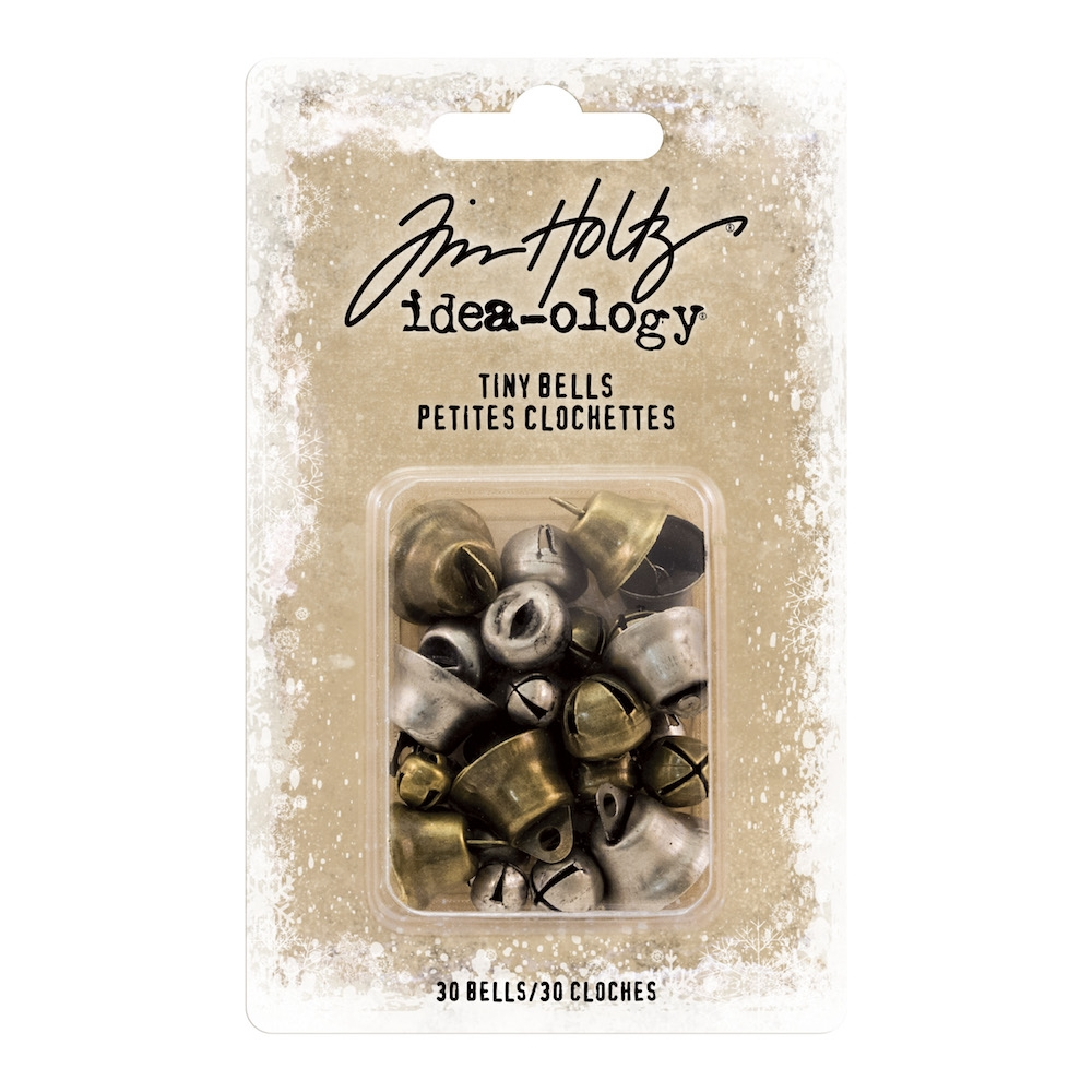 Tim Holtz Idea-ology TINY BELLS Findings th94100 zoom image