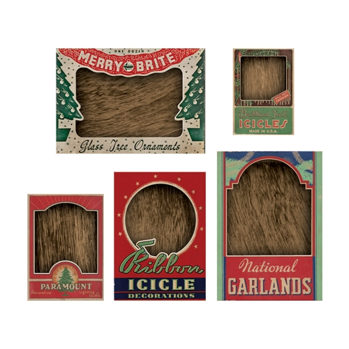 Tim Holtz Idea-ology VIGNETTE BOX TOPS Structures th93755 Preview Image