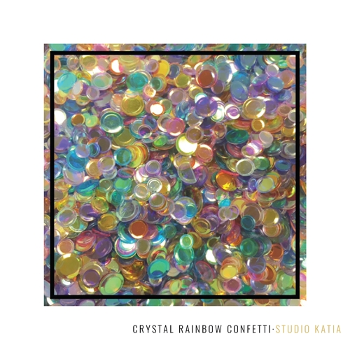Studio Katia CRYSTAL RAINBOW Confetti SK2702 Preview Image