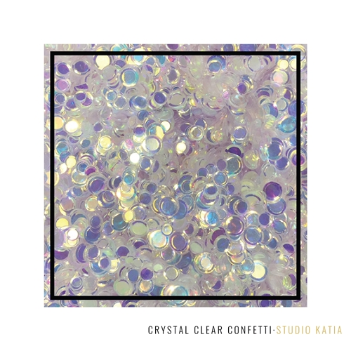 Studio Katia CRYSTAL CLEAR Confetti SK2701 Preview Image