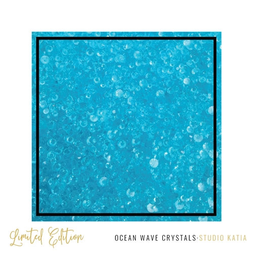 Studio Katia OCEAN WAVE Crystals SK2418 Preview Image