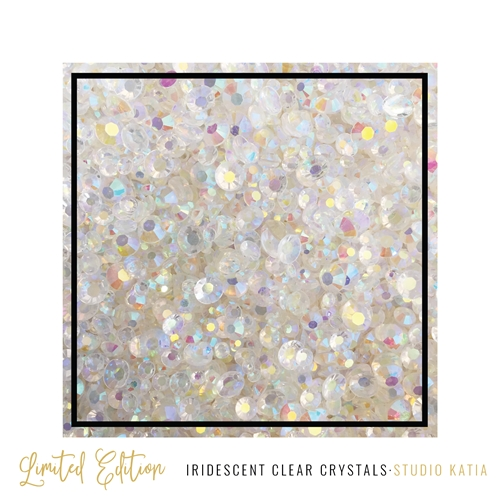 Studio Katia IRIDESCENT CLEAR Crystals SK2415 Preview Image