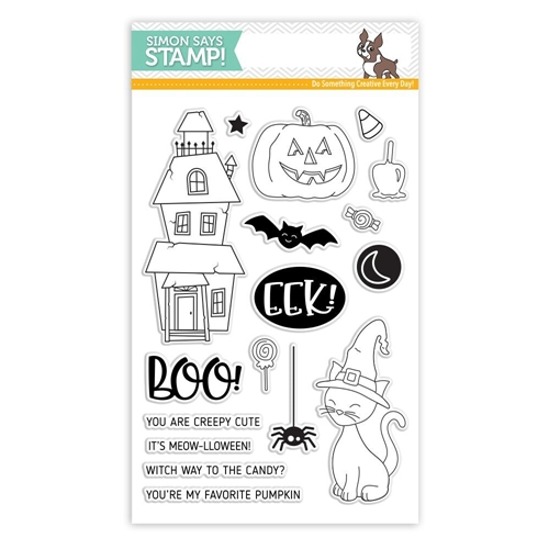 Simon Says Clear Stamps CREEPY CUTE SSS101783 * Preview Image