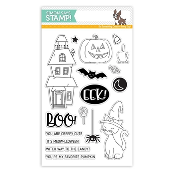 Simon Says Clear Stamps CREEPY CUTE SSS101783 *