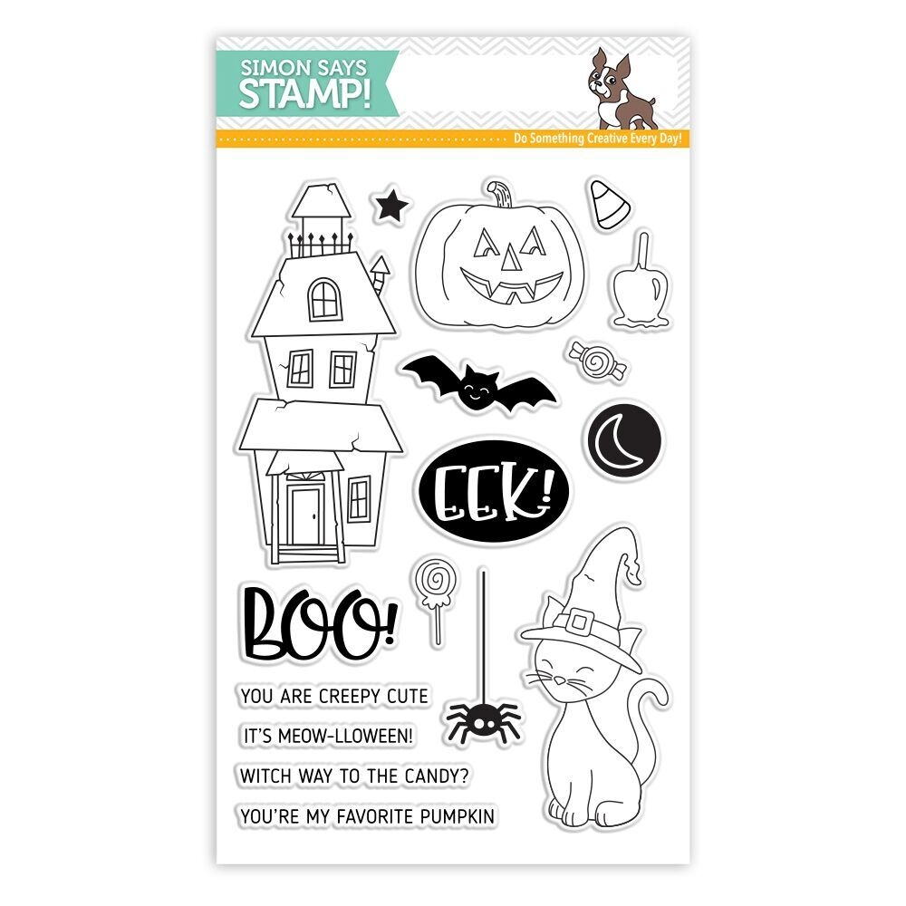 Simon Says Clear Stamps CREEPY CUTE SSS101783 * zoom image