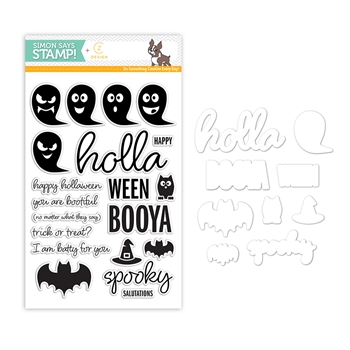 CZ Design Stamps and Dies HOLLAWEEN CZSET5