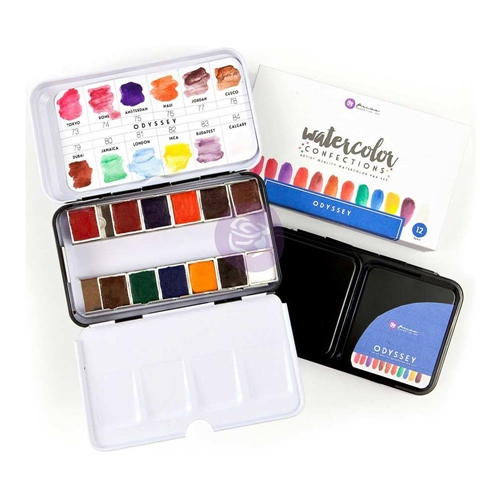 Prima Marketing ODYSSEY Watercolor Confections Set 595791 Preview Image