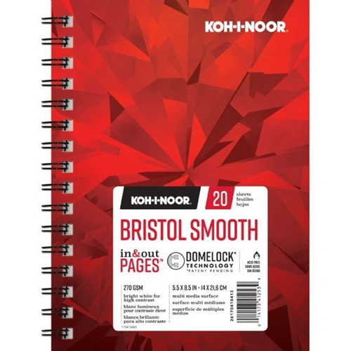 KOH-I-NOOR BRISTOL SMOOTH 5.5x8.5 Paper 26170410413 Preview Image