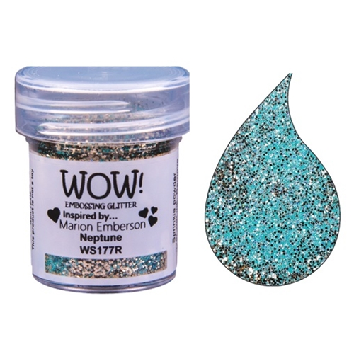 WOW Embossing Glitter NEPTUNE WS177R Preview Image