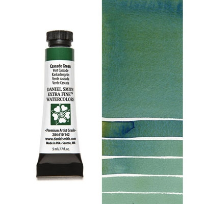 Daniel Smith Cascade Green Watercolor Paint