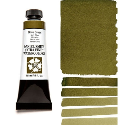 Daniel Smith OLIVE GREEN 15ML Extra Fine Watercolor 284600063 zoom image