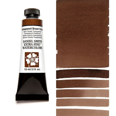 Daniel Smith TRANSPARENT BROWN OXIDE 15ML Extra Fine Watercolor 284600129 zoom image