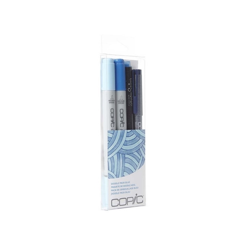 Copic DOODLE PACK BLUE Set 053874 Preview Image