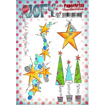 Paper Artsy JOFY 57 Rubber Cling Stamp JOFY57