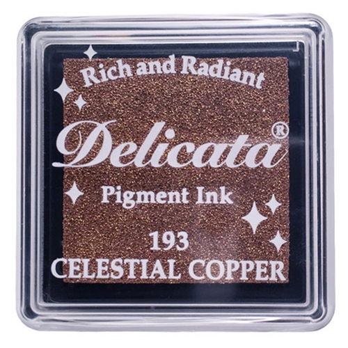 Tsukineko Delicata SMALL CELESTIAL COPPER Ink Pad DESML193 Preview Image