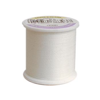 Coats And Clark GLOW IN THE DARK White Thread 100yds 78393