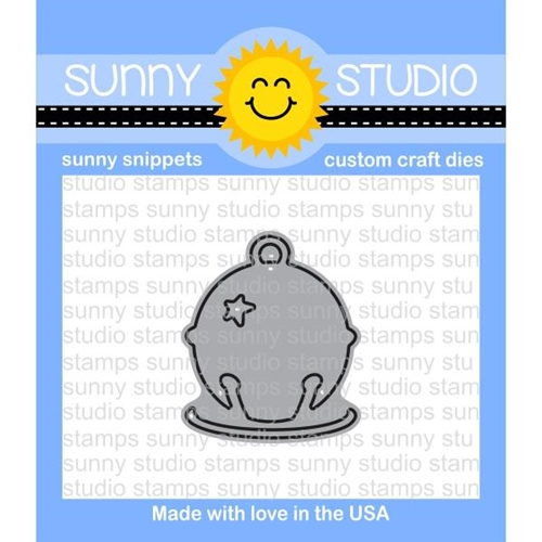 Sunny Studio SILVER BELL Snippets Die SunnySS-903 Preview Image